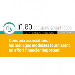 L'effort financier des ménages modestes pour les associations