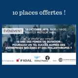 """Assises de la philanthropie - 10 ans des fonds de dotation"""